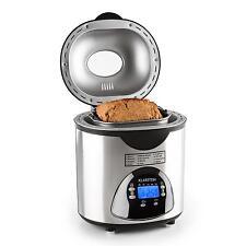 Machine à pain + fonction yaourt confiture 12 programmes 580W inox + accessoires