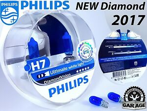 new h7 philips diamond vision 5000k white car headlight. Black Bedroom Furniture Sets. Home Design Ideas