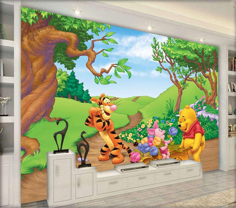 Fairy Refined Animal 3D Full Wall Mural Photo Wallpaper Printing Home Kids Decor