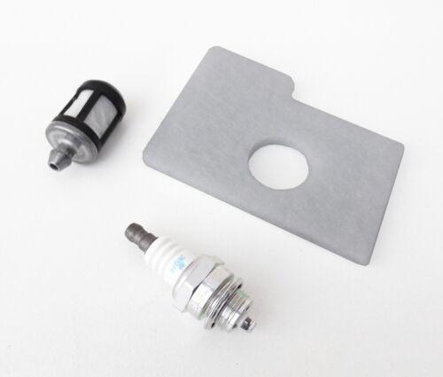 Service Kit für STIHL Kettensäge MS 170 180 Zündkerze Luftfilter Benzinfilter L
