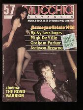MUCCHIO SELVAGGIO 57/1982 RICKY LEE JONES VAN RONK SPRINGSTEEN STING PARKER