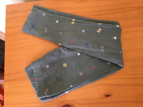 NWT Gymboree Green Icon Leggings Girls