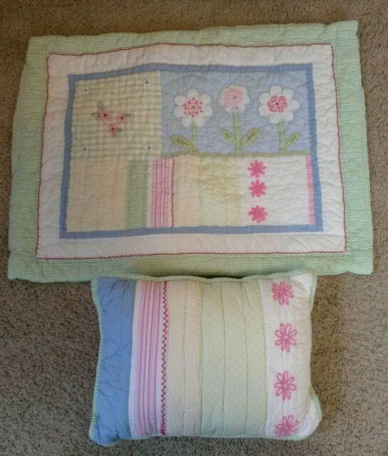 Pottery Barn Minnetonka Mn: Pottery Barn Kids Floral Striped Gingham Standard Pillow