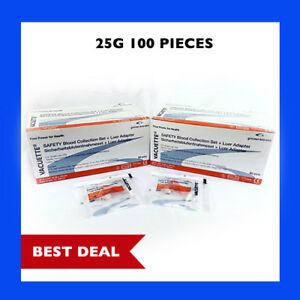 25g-Greiner-Butterfly-Safety-Needle-w-Adapter-and-12-034-Tube-2-Box-Set-Special