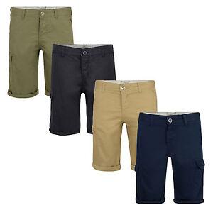 Details about Lee Cooper New Mens Plain Cargo Combat Bermuda Shorts Summer Casual Cotton Pants
