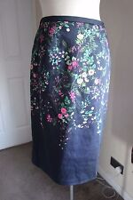 size 8 stunning cotton floral skirt from monsoon brand new beautiful