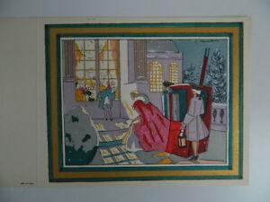 Gravur Antik Einmalig Au Pochoir Unterzeichnet Jacques Touchet Szene Du XVIII