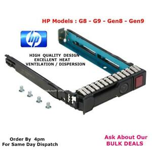 HP-651687-001-2-5-034-SAS-SATA-Hot-Swap-Disque-Dur-Caddy-G8-G9-G10-Gen8Gen9Gen10