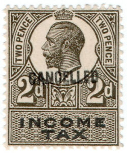I-B-George-V-Revenue-Income-Tax-2d-1914