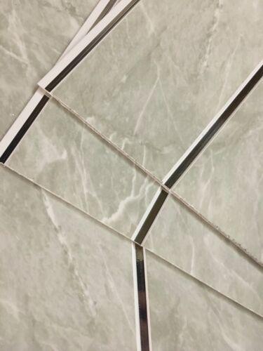 Black Sparkle White Sparkle Gloss White Grey Chrome Shower Wall Bathroom Panels