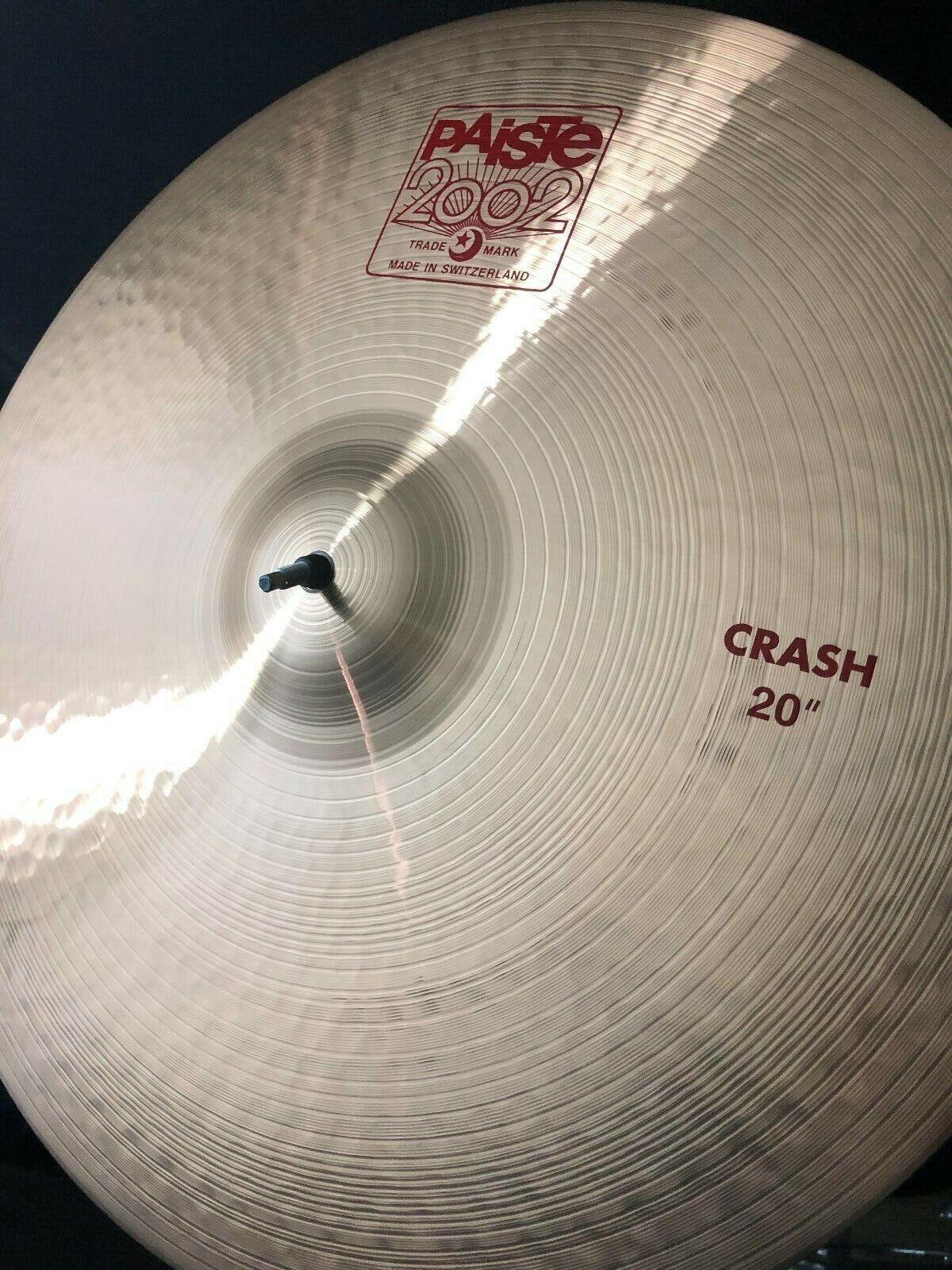 Paiste 20  2002 Crash Cymbal