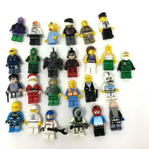 Lego-Minifigures-25-Assorted-Nasa-City-Santa-Ninja-Mixed-Lot-Lot1