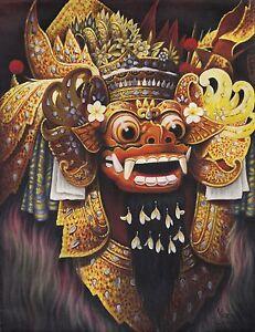 Hand-painting-Balinese-Bali-Barong-Great-Details-297