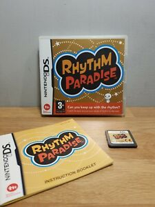 Rhythm Paradise Nintendo DS DSI 2DS 3DS (Complete) VGC (Fast & Free Post)