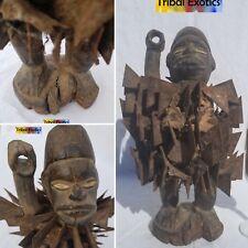 PREMIUM Bakongo Kongo Nkisi Nkondi Sculpture Statue Figure Mask Fine African Art