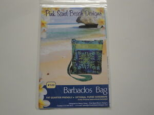 Barbados-Bag-Purse-Pink-Sand-Beach-Designs-Fat-Quarter-Friendly