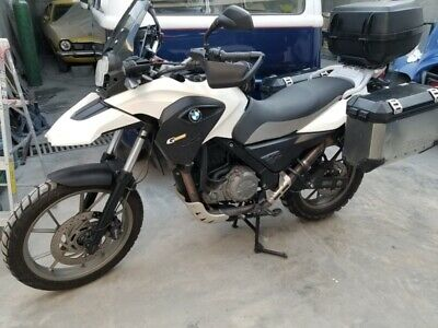 bmw gs650 2012 color blanco 54km 105mil  con maletas incluidas 8182549605