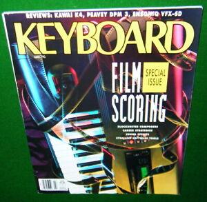 1990-Keyboard-Magazine-Film-Scoring-Kawai-K4-Peavey-DPM-3-Ensoniq-VTX-SD-Rev