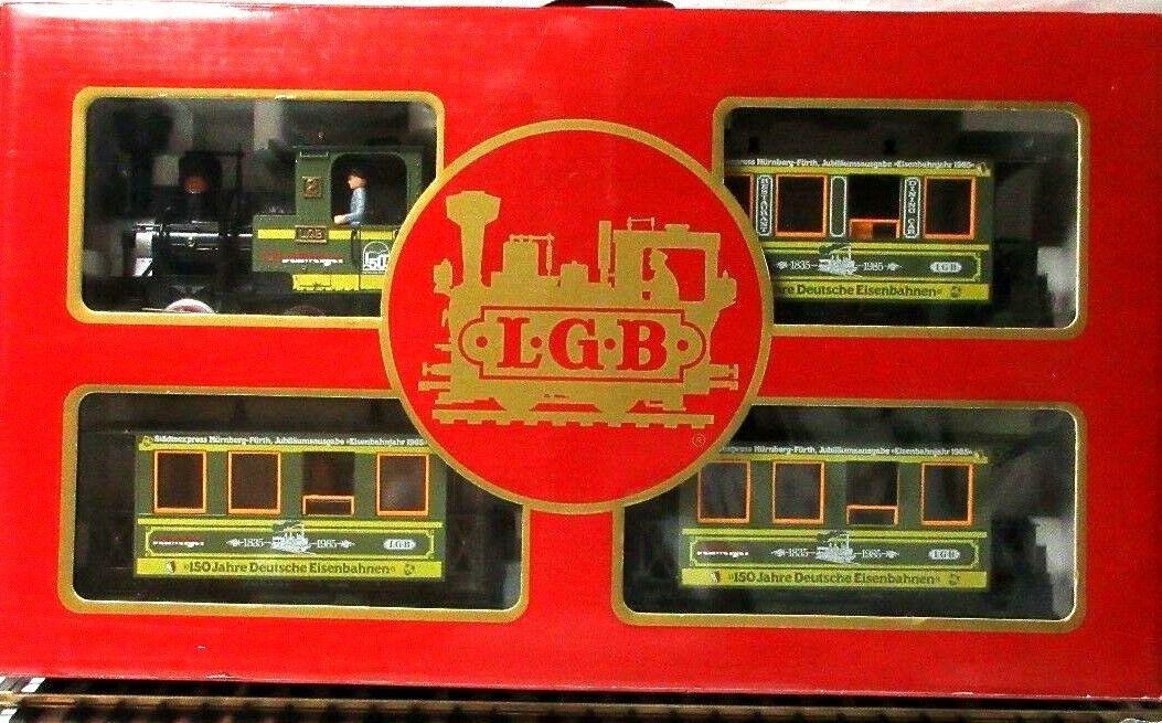 LGB LGB LGB 20533 GREEN SCHWEIGER SET 88538d