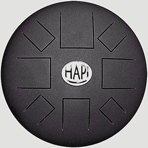 Hapi-Drum-Slim-Handpan-tankdrum-inkl-Tasche-amp-Schlegel-div-Stimmungen