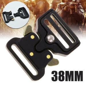 Heavy-Duty-Quick-Release-Metal-Buckle-Straps-Webbing-Tactical-Belts-Buckle-US