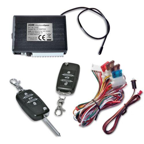 für Audi Modelle universal Funk-Fernbedienung für ZV 2 Klappschlüssel-Sender