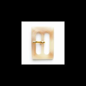 Vogue Star 25mm Mottled Effect Beige Slide Replacement Buckle Accessories