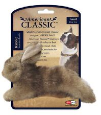 JAKKS AMERICAN CLASSIC SMALL Rabbit  Plush Squeaker Dog Toy
