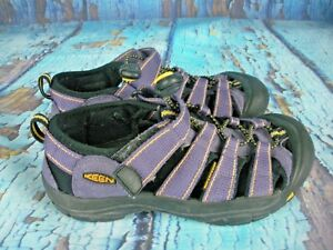 Keen-Newport-H2-Purple-Waterproof-Sport-Sandals-Shoes-Youth-Size-3
