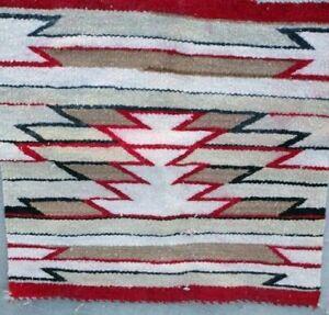 Antique Navajo Rug Saddle Blanket