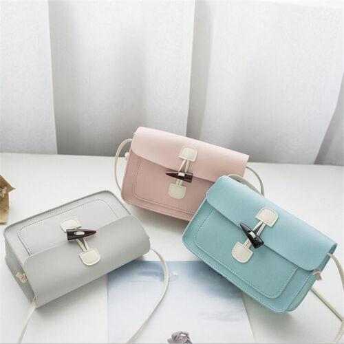 Women Girl Mini Satchel Messenger Bag Fashion Crossbody Shoulder Handbag KS