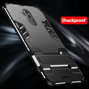 separation shoes 620f4 9e3ff Details about For Huawei Mate 20 Lite 10 9 Pro Hybrid Rugged Armor  Shockproof Case Stand Cover