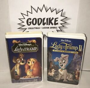 Disney Lady And The Tramp 1 2 Vhs 786936078541 Ebay