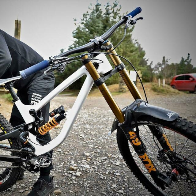 BBB HighProtector DH Front mudguard-Black