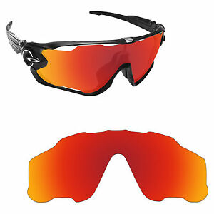 Image is loading Hawkry-Polarized-Replacement-Lenses-for-Oakley-Jawbreaker -Orange- 27d45809aa4a