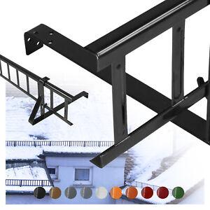 SCHNEEFANGGITTER-1-5-3m-lang-10-RAL-Farben-Hohe-15-20cm-komplett-verzinkt-TOP