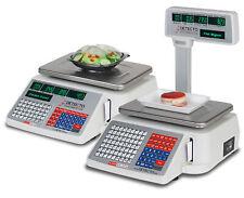 Detecto Dl1060p Deli Scale With Integral Printer Amp Tower 60lb X 002lb Ntep