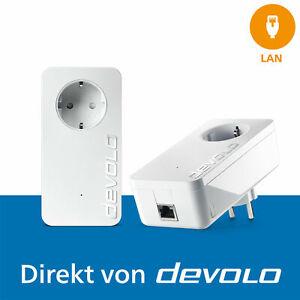 devolo dLAN 1200+, 2 Powerline Adapter, Internet aus der Steckdose,...