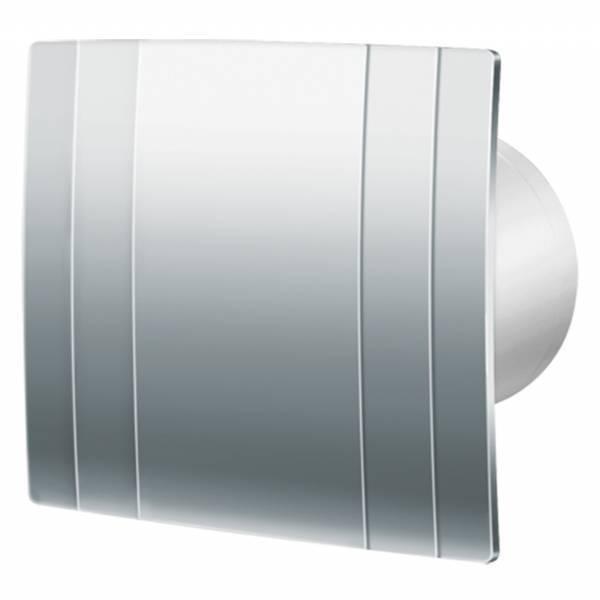 Aspiratore da Bagno - bluberg Quatro Platinum 100mm - Chrome- 88 m3 h