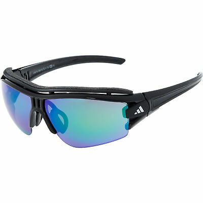 timeless design 4c856 171f7 ADIDAS Evil Eye Halfrim Pro XS Sunglasses, Black Shiny/Black A199  888465078501   eBay