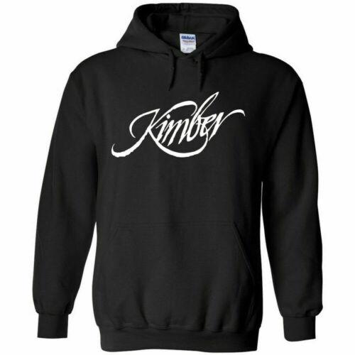 Kimber White Logo Hoodie Sweatshirt 2nd Amendment Pro Gun Rights Rifle Pistol
