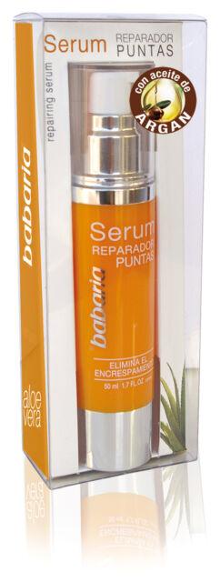Babaria Aloe Vera Split Ends / Frizz Hair Repairing Serum with Argan Oil 50ml