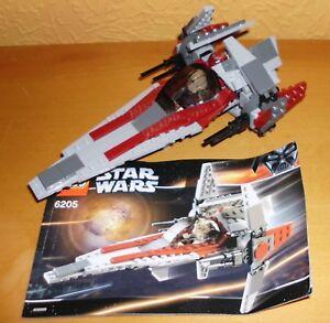 LEGO-STAR-WARS-6205-V-wing-Fighter-2006-complet