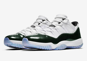 Nike Air Jordan 11 low Retro XI Emerald 528895-145 Easter FAST SAME DAY SHIPPING