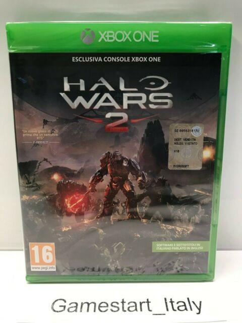 HALO WARS 2 - XBOX ONE - GIOCO NUOVO SIGILLATO PAL VERSION - NEW SEALED