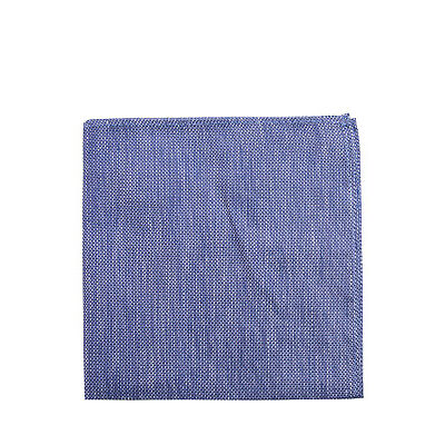 NEW Ben Sherman Pocket Square Royal Blue