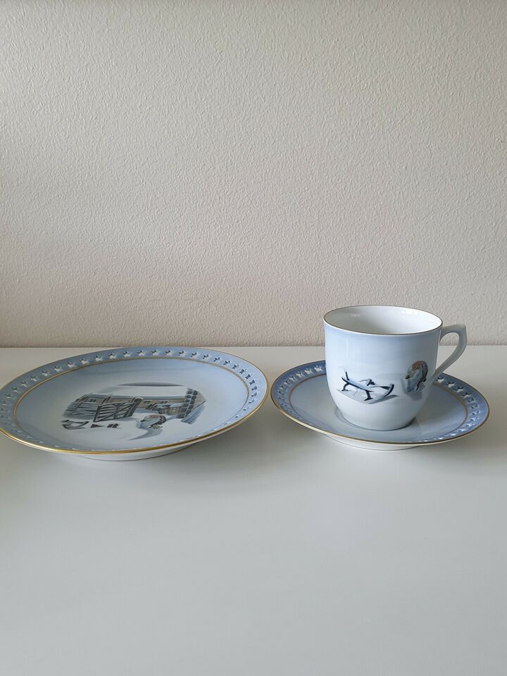 Porcelæn, Julestel, Bing & Grøndahl
