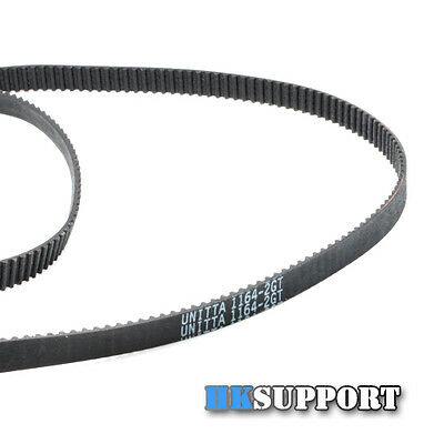 3 x UNITTA 1164mm GT2 Timing Belt Closed Loop with 2mm Pitch & 6mm Width