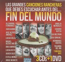 CD - Las Canciones Rancheras NEW Fin Del Mundo 3 CD's & 1 DVD FAST SHIPPING !