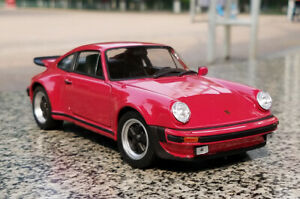 1-24-WELLY-1974-Porsche-911-Turbo-Alloy-Sports-Car-Model-Boys-Toys-Static